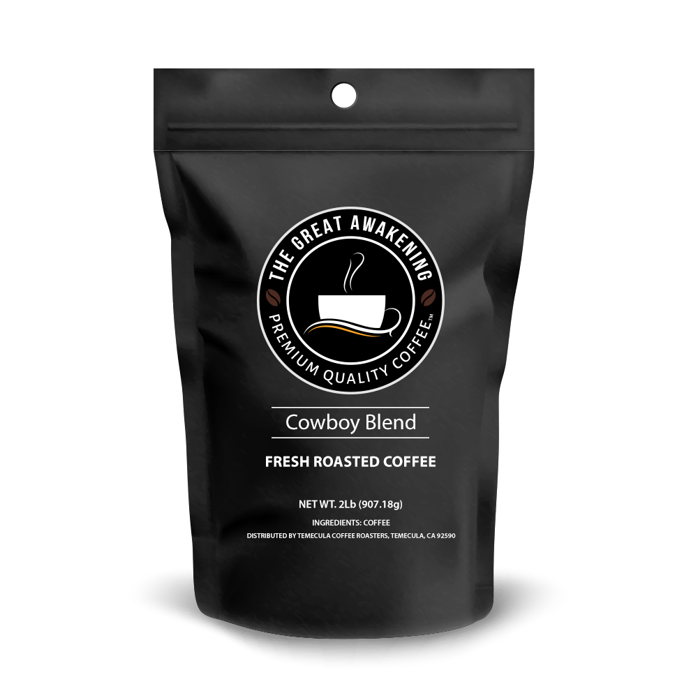 The Great Awakening Gourmet Coffee - Cowboy Blend