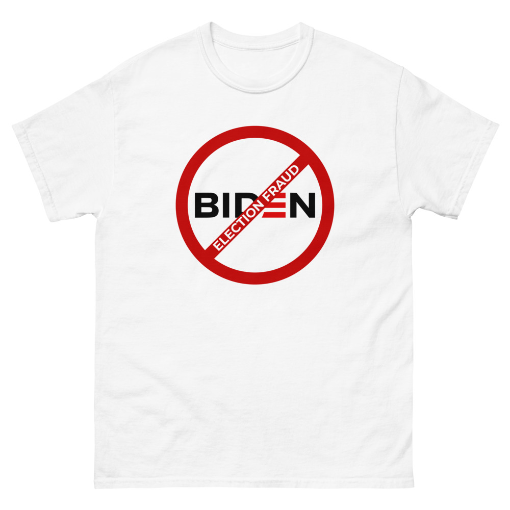 Biden Election Fraud Unisex T-Shirt