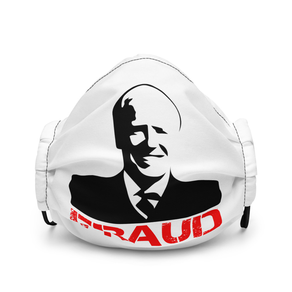Biden Fraud - Premium Face Mask