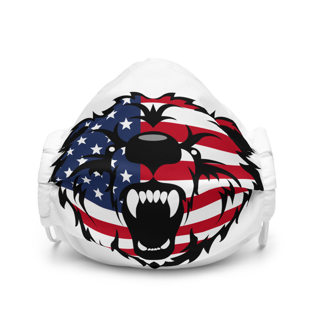 Patriot Grizzly - Premium face mask